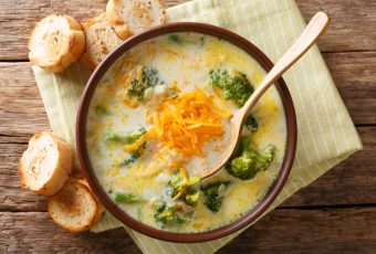 Delicious Broccoli Cheddar Soup For Kids